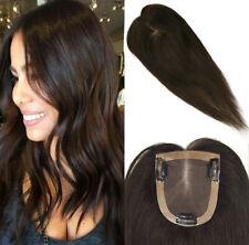 Mono Silk Base Frontal 100% Brazilian Remy Human Hair Top Base Topper 10x12cm