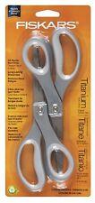 Fiskars 8 Inch Everyday Titanium Scissors, 2 pack, New, Free Shipping