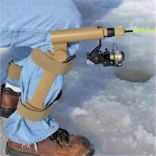 Leg Mounted Ice Fishing Rod Holder