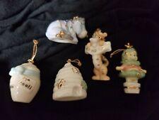 Lenox Pooh Mini Ornaments