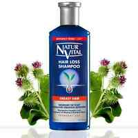 Natur Vital Hair Loss Shampoo GREASY HAIR 300ml