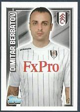 TOPPS 2012/13 PREMIER LEAGUE #081-FULHAM & BULGARIA-DIMITAR BERBATOV