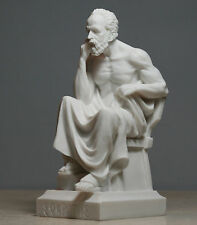 Greek Philosopher SOCRATES Handmade Statue Sculpture Athens Academy 6.7in