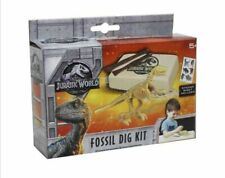 2 x Educational Jurassic World Fossil Dig Excavation Kit Dinosaur Digging Set