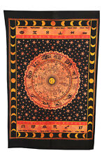 Indian Sun Tapestry Hippies Poster Bohemian Wall Hanging Cotton Home Decor Art
