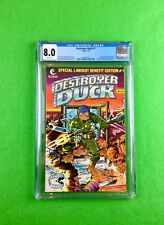 Destroyer Duck #1 (1982): CGC 8.0 (VF)!  1st Appearance Groo the Wanderer!
