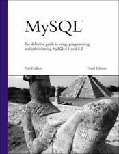 Developer's Library: MySql by Paul DuBois (2005, Paperback, Revised)