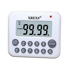 XREXS Digital Kitchen Timer Magnetic Countdown Up Cooking Timer Clock with