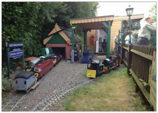 Riley's Miniature Railway Postcard - 5 Inch Gauge Railway At Isfield East Sussex