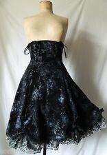 JUPE taille haute victorien gothique Japan goth corset skirt PUNK RAVE S 36