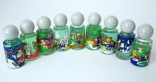 (9) Vintage Mini Bottles Cologne/Perfume, Children's/Child's, NURSERY RHYMES