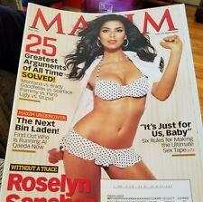 Maxim May 2007 Roselyn Sanchez TV's Most Wanted Cop Magazine Men