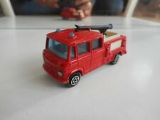 Majorette Mercedes Aeroport Pompier in Red + Black Hose