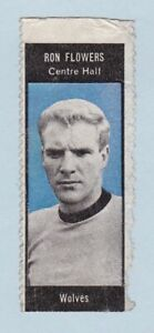 Football Sticker/Stamp - World Cup Footballers (A. & B.C. Gum) - #Ron Flowers