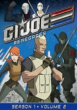 GI JOE RENEGADES: SEASON 1 VOL 2 (Jason Marsden) - DVD - Region 1 Sealed
