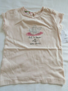 BONPOINT Mädchen-Shirt Baby NEU Gr. 80  (UVP 50 Euro)
