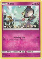 4x Ralts - 91/147 - Common Burning Shadows Pokemon Near Mint