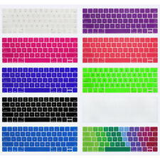 English Language Letter Keyboard Cover Protector Film For MacBook Pro 13 15