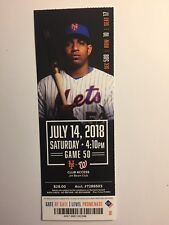 NEW YORK METS VS WASHINGTON NATIONALS JULY 14, 2018 TICKET STUB