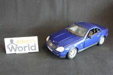 Maisto Mercedes-Benz 230 SLK 1:18 blue / grey interior working roof (JS)