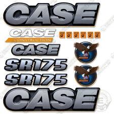 Case SR 175 Decal Kit Skid Steer Loader Equipment Decals SR-175