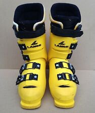 Lange TII Super Heat Yellow Ski Boots SIZE 7 M PRE-OWNED