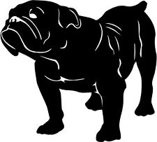 "BULLDOG Pet 10"" Decal Sticker DOG English American Animal window Windshield"