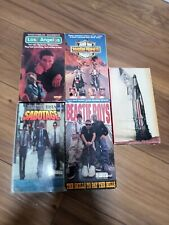 Beastie Boys Vhs Tapes - Lot of 5 Vintage