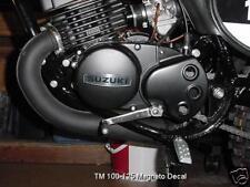 Suzuki RM100A RM125M TM100 TM125 Magneto Cover Decal (73-76)