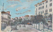 * SAN REMO - La Gare - Colorata a mano 1900