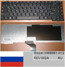 CLAVIER QWERTY RUSSE GATEWAY MX3000 MX4000 HMB991-H12 AAG950400019F1 Noir