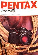 Pentax program A Prospekt brochure - (0346)