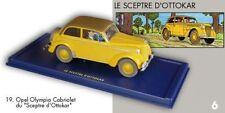 L'Opel Olympia cabriolet Le Sceptre d'Ottokar En voiture Tintin Moulinsart #19