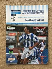 Huddersfield Town v Scunthorpe United - Coca~Cola League 1  2005/06 Programme