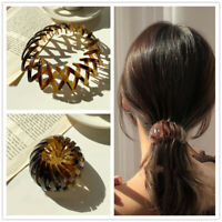 Women Inserts Hair Clip Claw Ponytail Comb Headband Barrettes Resin Hairpin New