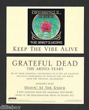 Grateful Dead Promo Card  Handbill Sticker Alton Kelley Fillmore Poster Artist