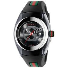 Gucci YA137101 Sync Stainless Steel Mens Watch - Black