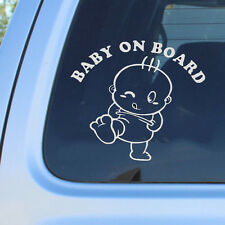 Cute Baby on Board Vinyl in Car Graphics Window Vehicle Sticker Decal Decor Auto