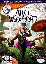 BRAND NEW Sealed Alice in Wonderland (PC, 2010)