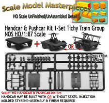 Handcar & Pushcar Kit 1-Set/Kit NOS Tichy Train Fine Scale Layout HOn3/HOn30