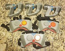 Vtg Laser Challenge Guns/Vests - 90s Laser Tag set - ToyMax