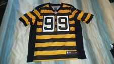 85a269af7 BRETT KEISEL  99 STEELERS AUTHENTIC 3RD NIKE ELITE FOOTBALL JERSEY sz 48