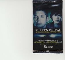 Supernatural season 2 , trading card pack