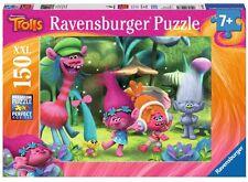 PUZZLE INFANTIL DE TROLLS 150 PIEZAS - Ravensburger 10033 / Trolls Kids Jigsaw