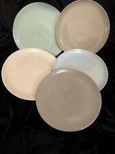 Set Of 10 Mud Australia Bread Plates Multi Coloured New In Box