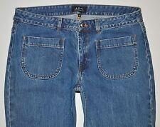 """APC Rue Madame Paris Herren VNTG Bootcut Jeans Europäische Gr. 40 (W31"""" L33"""") selten"""