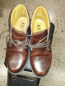 Havana Joe Brown Oiled Leather Chukka Boots Sz. 10.45 US size 43 EUR