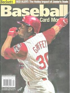 Beckett Baseball Card Montlhly April 2000 Ken Griffey Jr 181 Cincinnati Reds