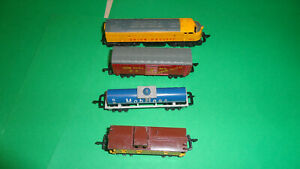 Lone Star Treble-O-Lectric Vintage f7a train set rare made in england