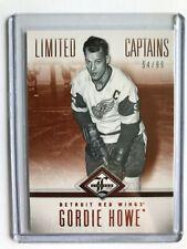 2012-13 Limited Hockey #200 Gordie Howe /99